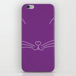 Cat lady iPhone Skin