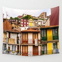 Portuguese Neighborhood Wall Tapestry
