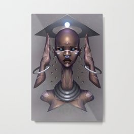 Haki Metal Print