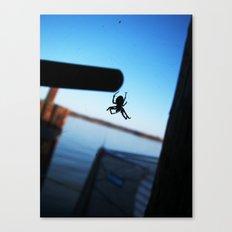 Arachnophobic Canvas Print