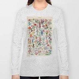 Adolphe Millot - Fleurs pour tous - French vintage poster Long Sleeve T-shirt