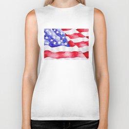 American Flag Biker Tank