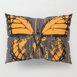 SHABBY CHIC ANTIQUE BUTTERFLY ART Pillow Sham