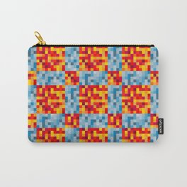 Hot & Cold Pixels Carry-All Pouch