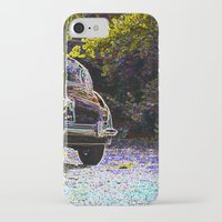 car iPhone & iPod Cases featuring Car by Lior Blum