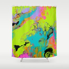 Totally Radical Shower Curtain