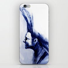 Blue Hawk iPhone Skin