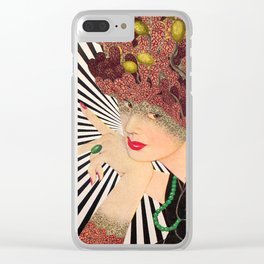 SHE ACCORDING TO ME Clear iPhone Case