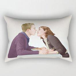 Fitzsimmons - Dinner Somewhere Nice Rectangular Pillow