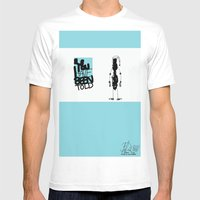 You've Been Told White MEDIUM Mens Fitted Tee