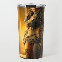 Warrior Woman Travel Mug