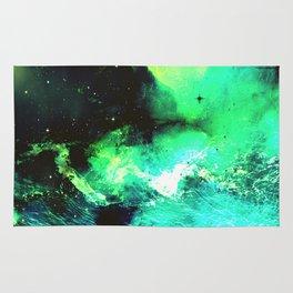 Green Nebula Rug