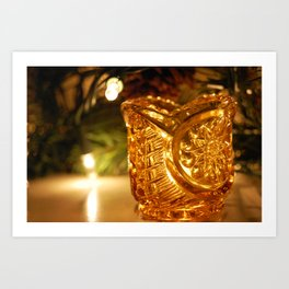 Candle Holder Art Print