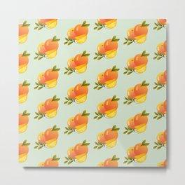Fruit Series: Oranges version 3 Metal Print