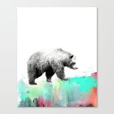 Wild No. 1 // Bear Canvas Print