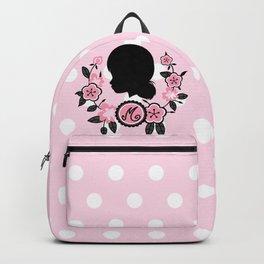 Silhouette of Marinette Backpack