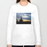 lucas david Long Sleeve T-shirts featuring David by Ken Seligson