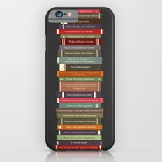 Ghostbusters stacked books Slim Case iPhone 6s