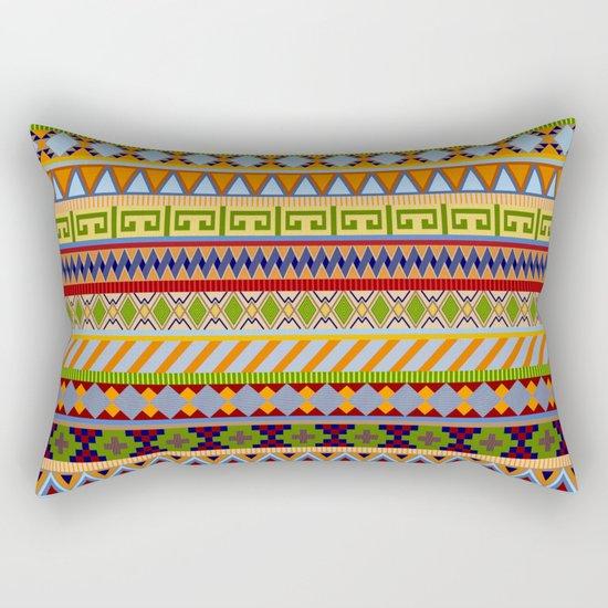 Tribal Aztec Patterns Rectangular Pillow