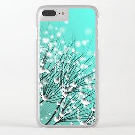 Water drops Clear iPhone Case