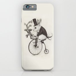 Delivery Rabbit  iPhone Case