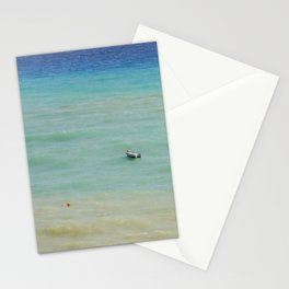 boats against the current (revisited) Stationery Cards
