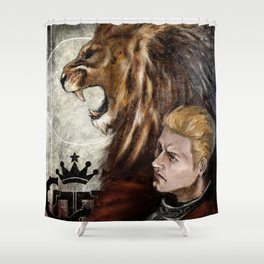 Dragon Age Inquisition - Cullen - Fortitude Shower Curtain