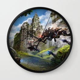Liverpool [Horizon Zero Dawn] Wall Clock