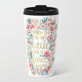 Little & Fierce Travel Mug