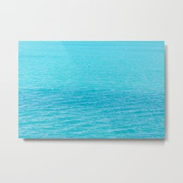 Sea's surface Metal Print