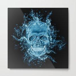 ghost skull Metal Print