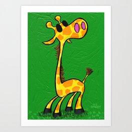 Raffles Art Print