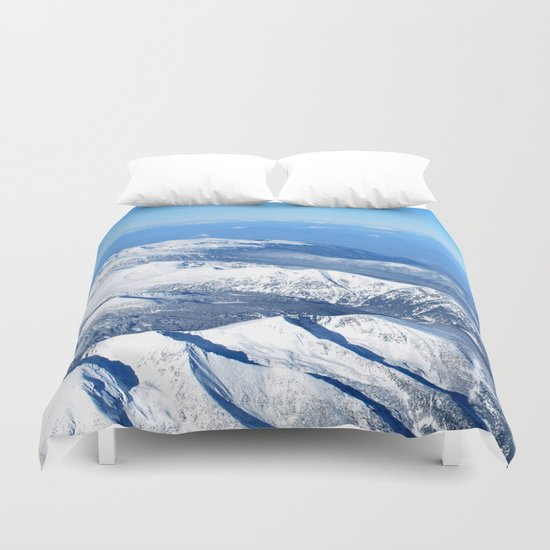 The way you make me feel  Duvet Cover