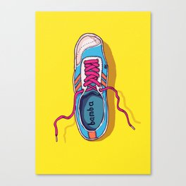 My lovely shoe Canvas Print