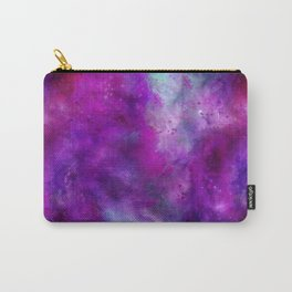 Purple Pink Blue Watercolor Carry-All Pouch