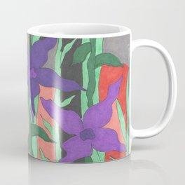 Twilight Sun Garden Floral Art Coffee Mug