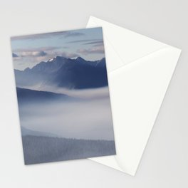Olympic National Park from the Hurricane Ridge. Stationery Cards