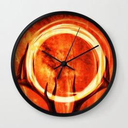 Wildfire Wall Clock