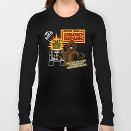 Gr'Ate Jawa Droid Repairs Long Sleeve T-shirt