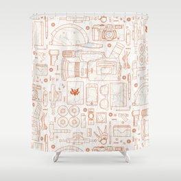 travel essentials Shower Curtain