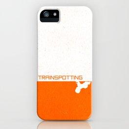 Trainspotting Minimalist iPhone Case