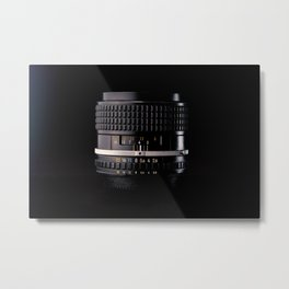 Professional Photography Lens Metal Print