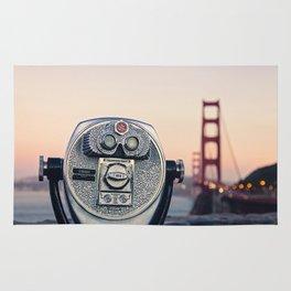 Golden Gate Sunset Rug