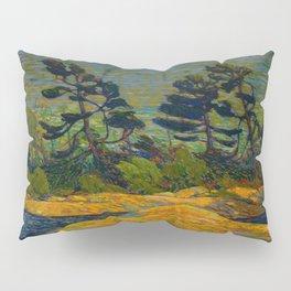 Tom Thomson Byng Inlet Georgian Bay winter 1914-1915 Canadian Landscape Artist Pillow Sham