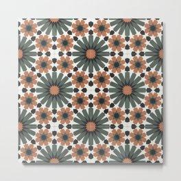 Geometric Hypnotherapy Metal Print