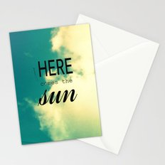 Here comes the Sun! Stationery Cards