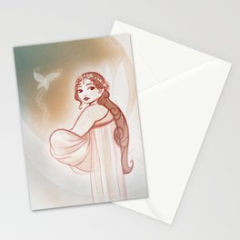 Moon Fairy Stationery Cards