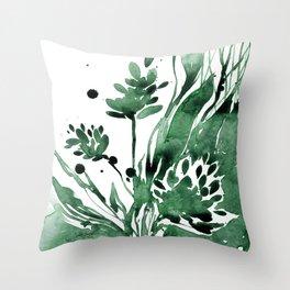 Organic Impressions No. 103 by Kathy Morton Stanion Throw Pillow