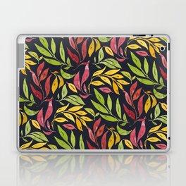 Loose Leaves - warm colors Laptop & iPad Skin