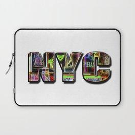 NYC (typography) Laptop Sleeve
